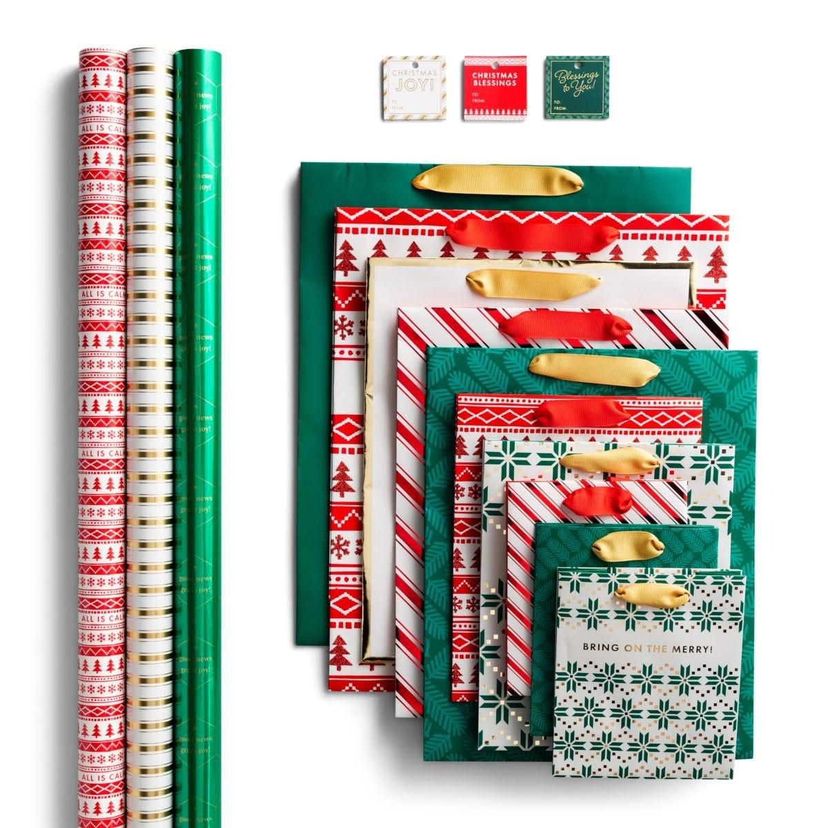 Christmas Gift Wrap & Bags