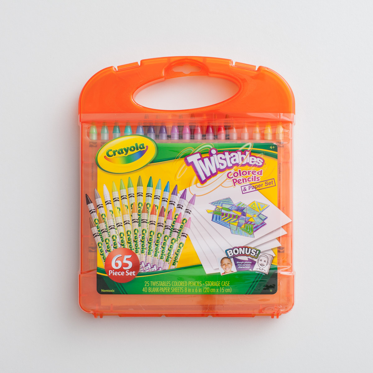 Crayola - Twistables Colored Pencils and Paper Set