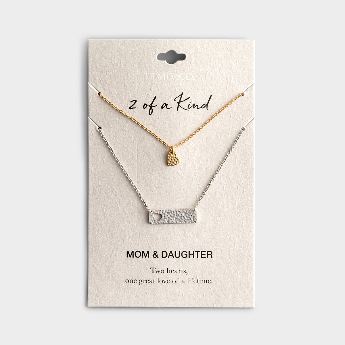 2 of a Kind - Mom & Daughter - Necklace