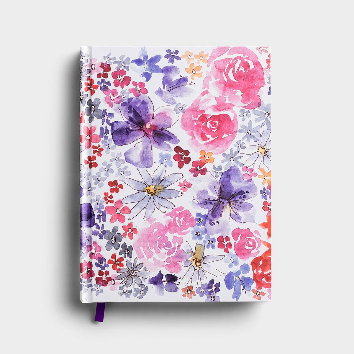 Watercolor Flowers - Christian Journal