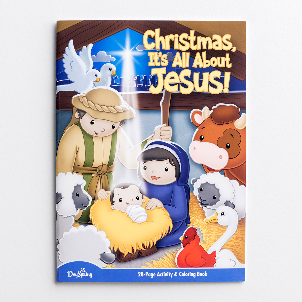 Christmas, It's All About Jesus - Activity & Coloring Book