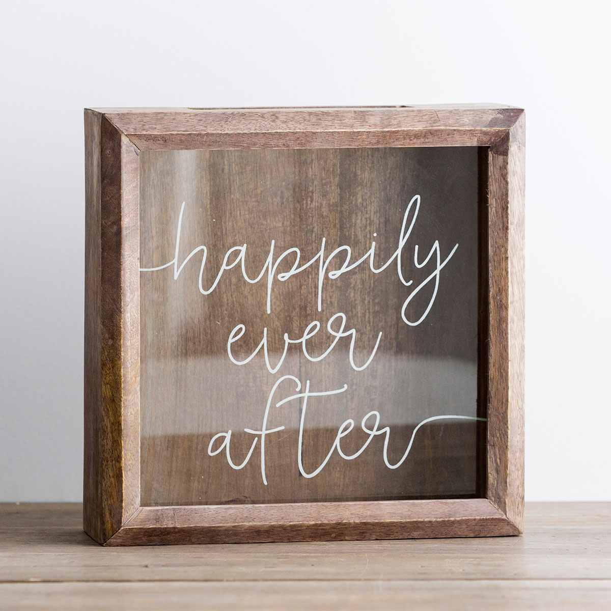 Happily Ever After - Wooden Keepsake Box