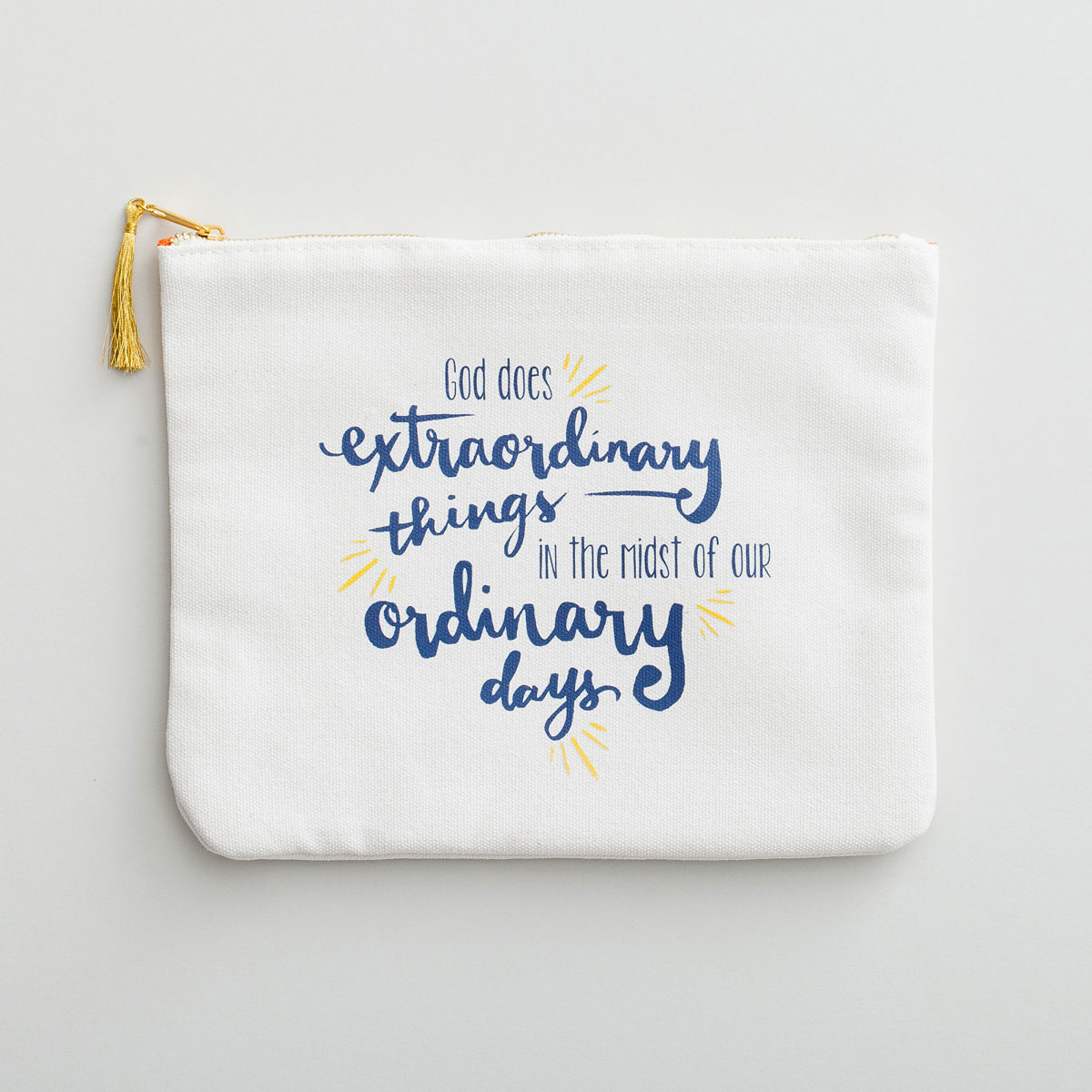 God Does Extraordinary Things - Mini-Tablet Pouch