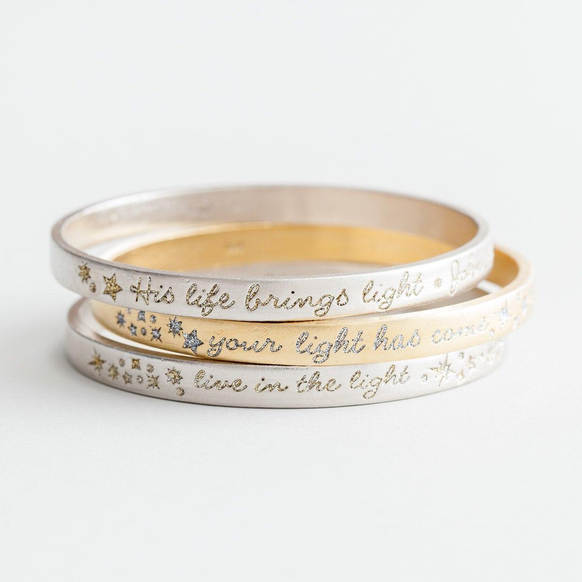 Everlasting Light - Bangles, Set of 3