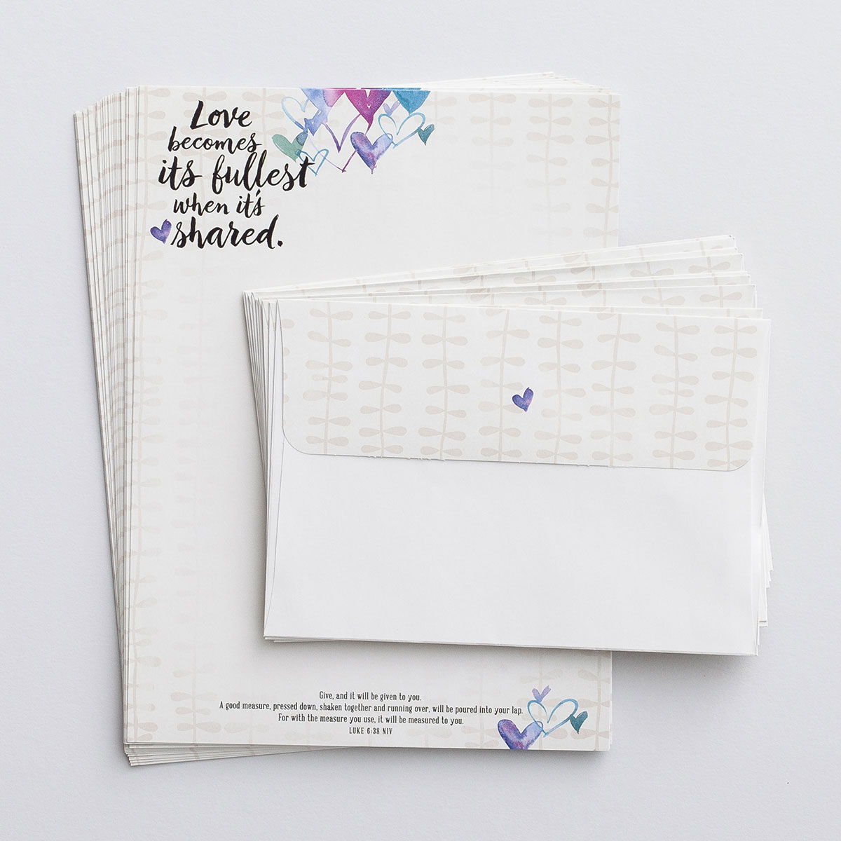 Love Becomes Its Fullest - Stationery Set