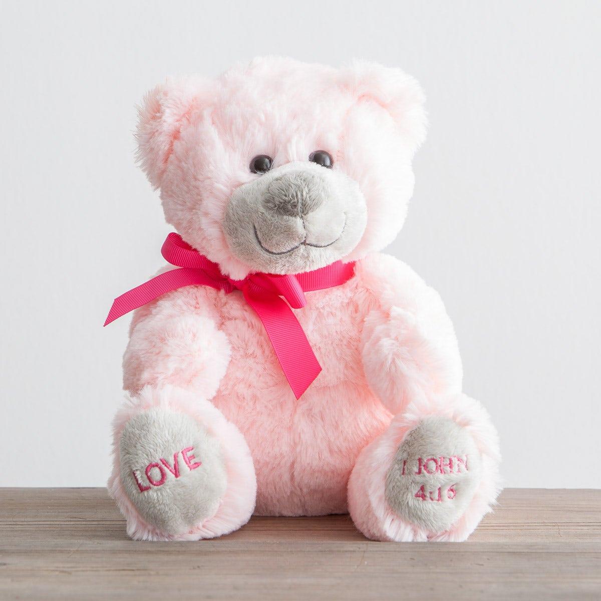 Plush Christian Love Bear