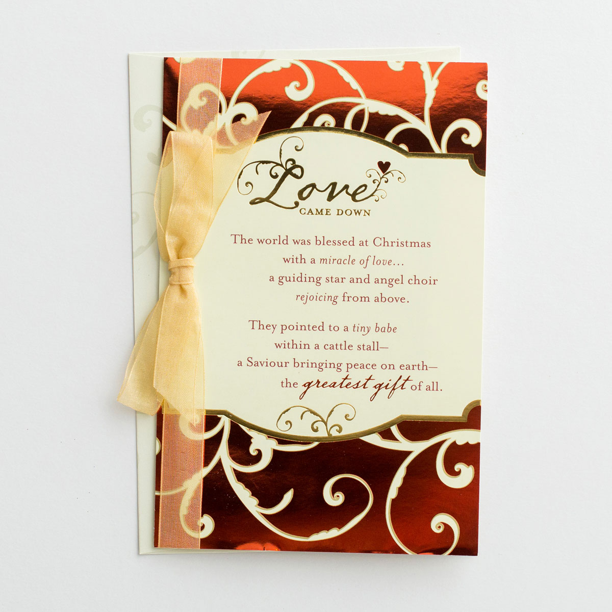 Love Came Down - The World - 16 Christmas Boxed Cards
