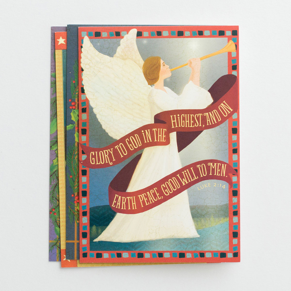 Folk Nativity - 24 Assorted Christmas Boxed Cards
