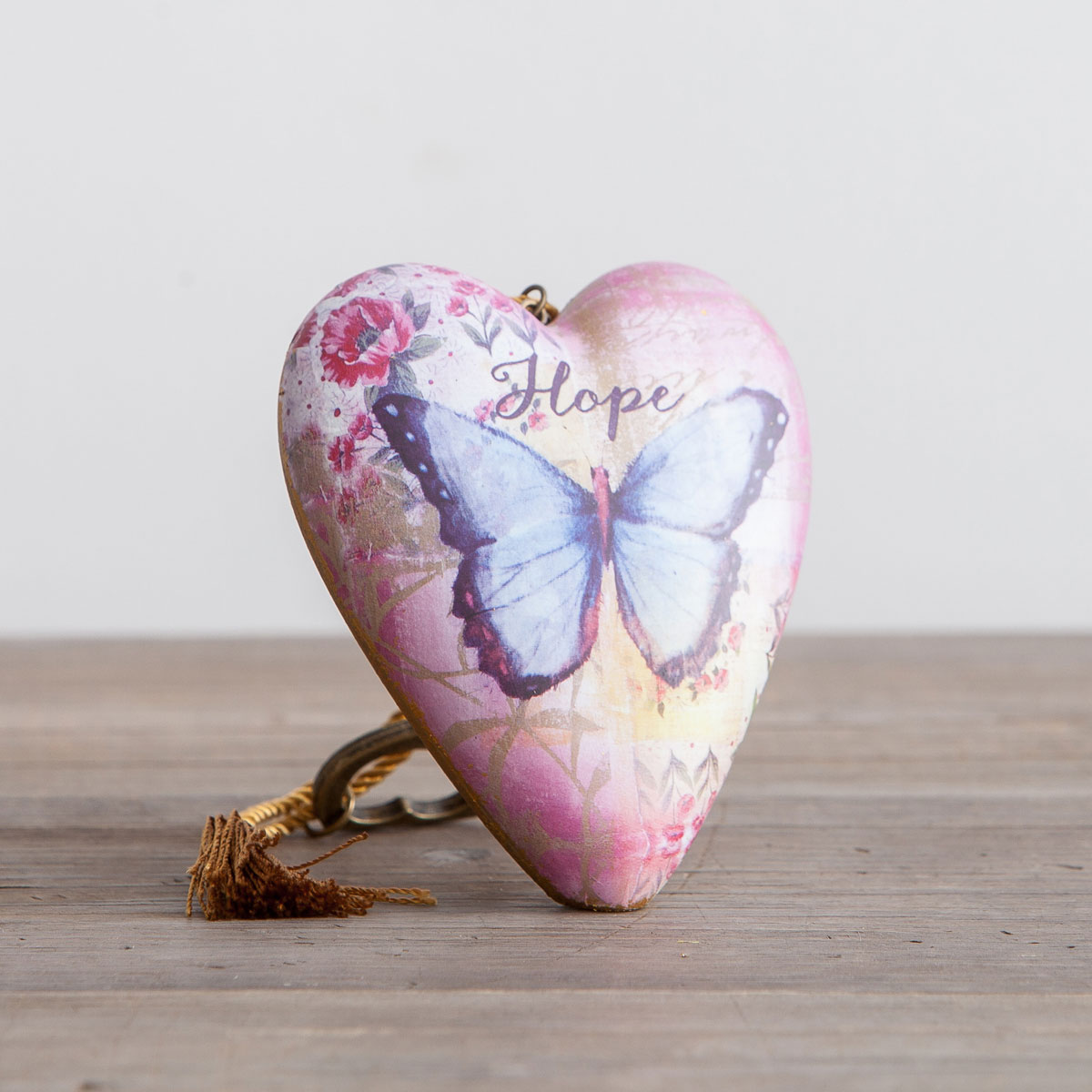 Hope - Art Heart Sculpture