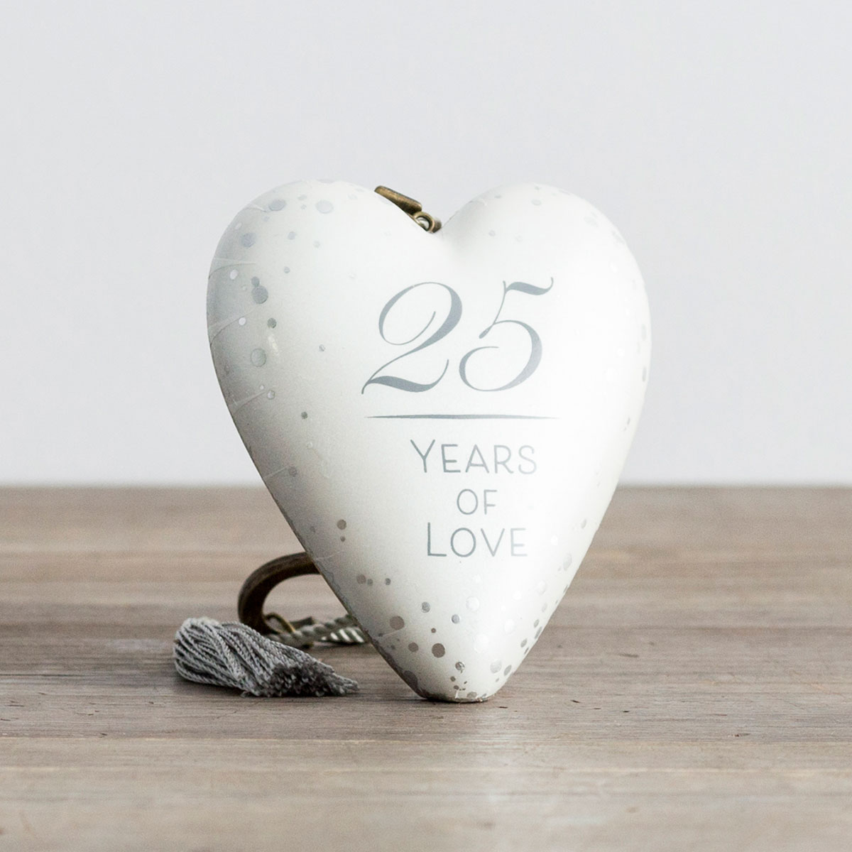 25 Years of Love - Art Heart Sculpture