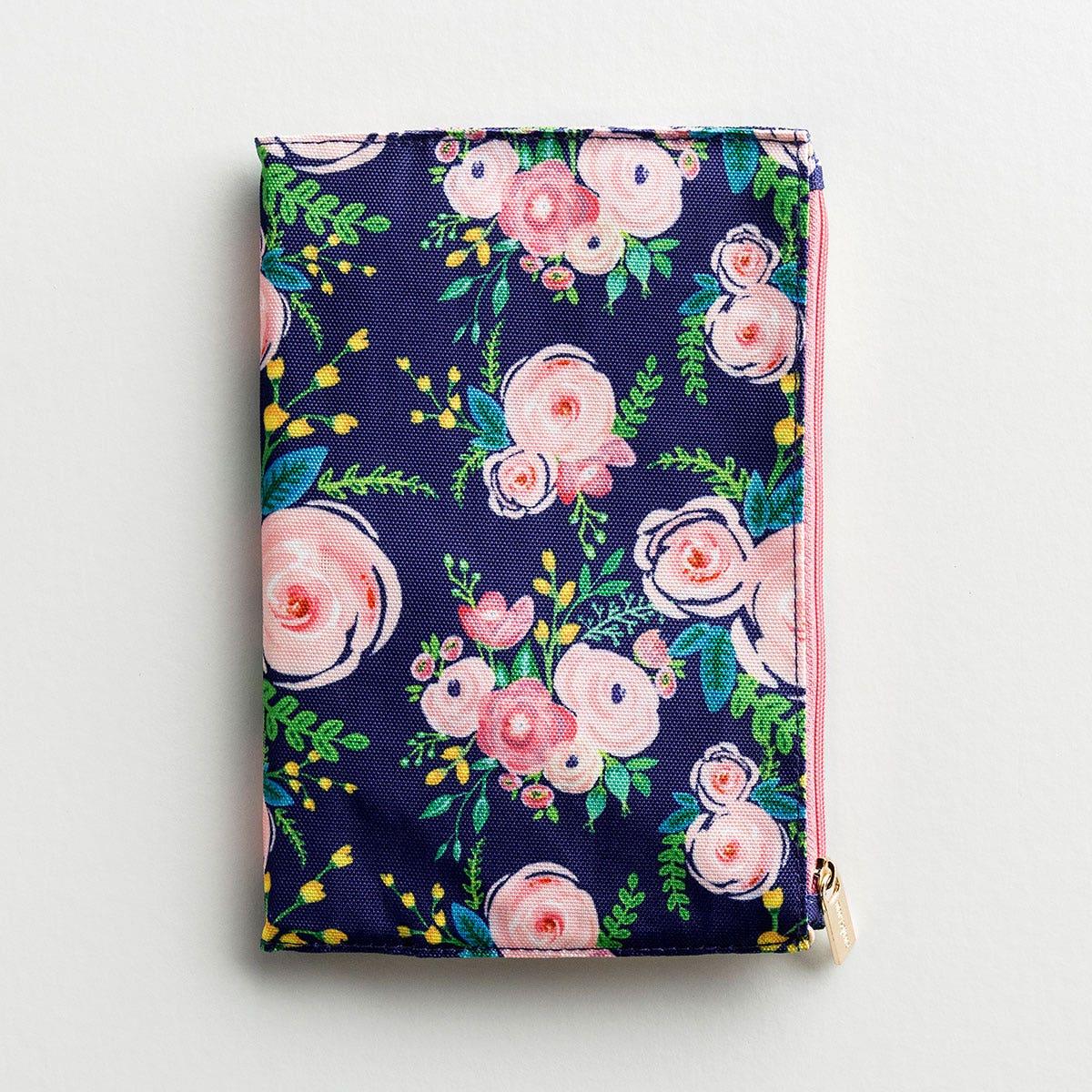 Floral Zip Pouch Journal - Portland