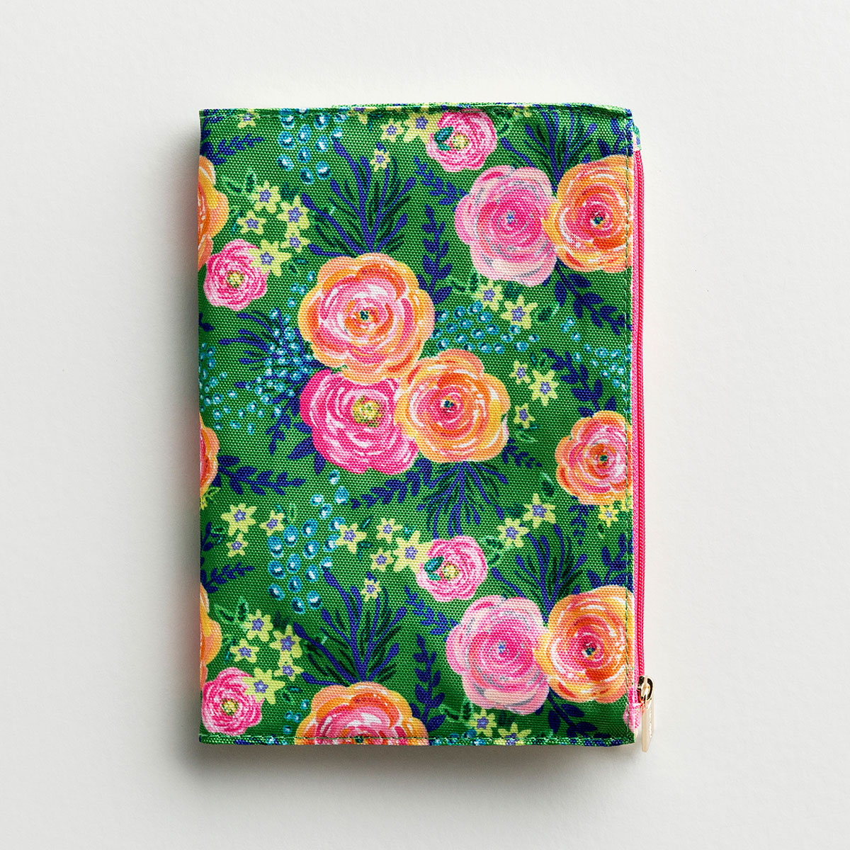 Floral Zip Pouch Journal - Madison