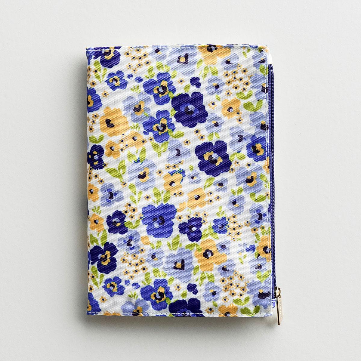 Floral Zip Pouch Journal - Birmingham