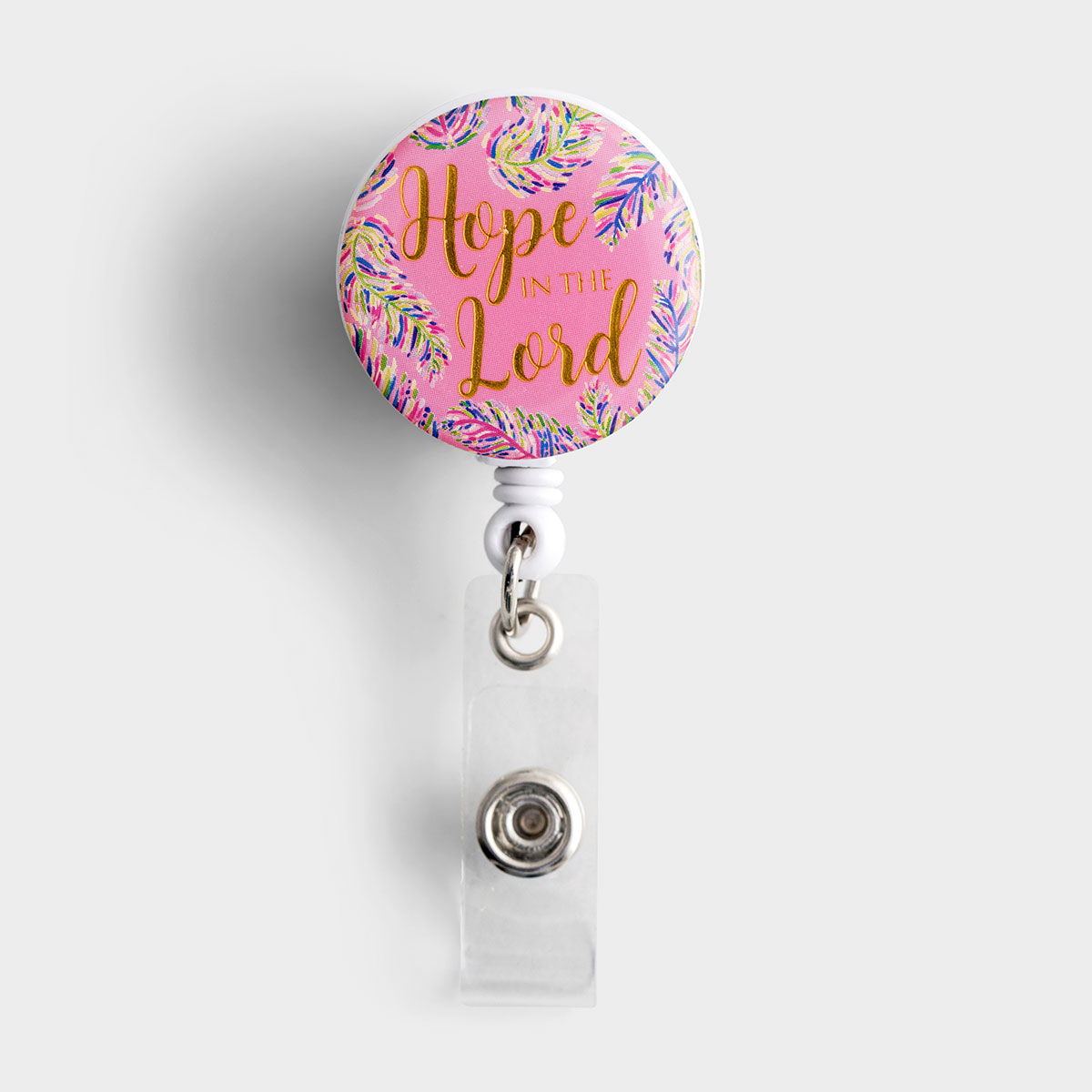 Hope In The Lord - Retractable Badge Reel