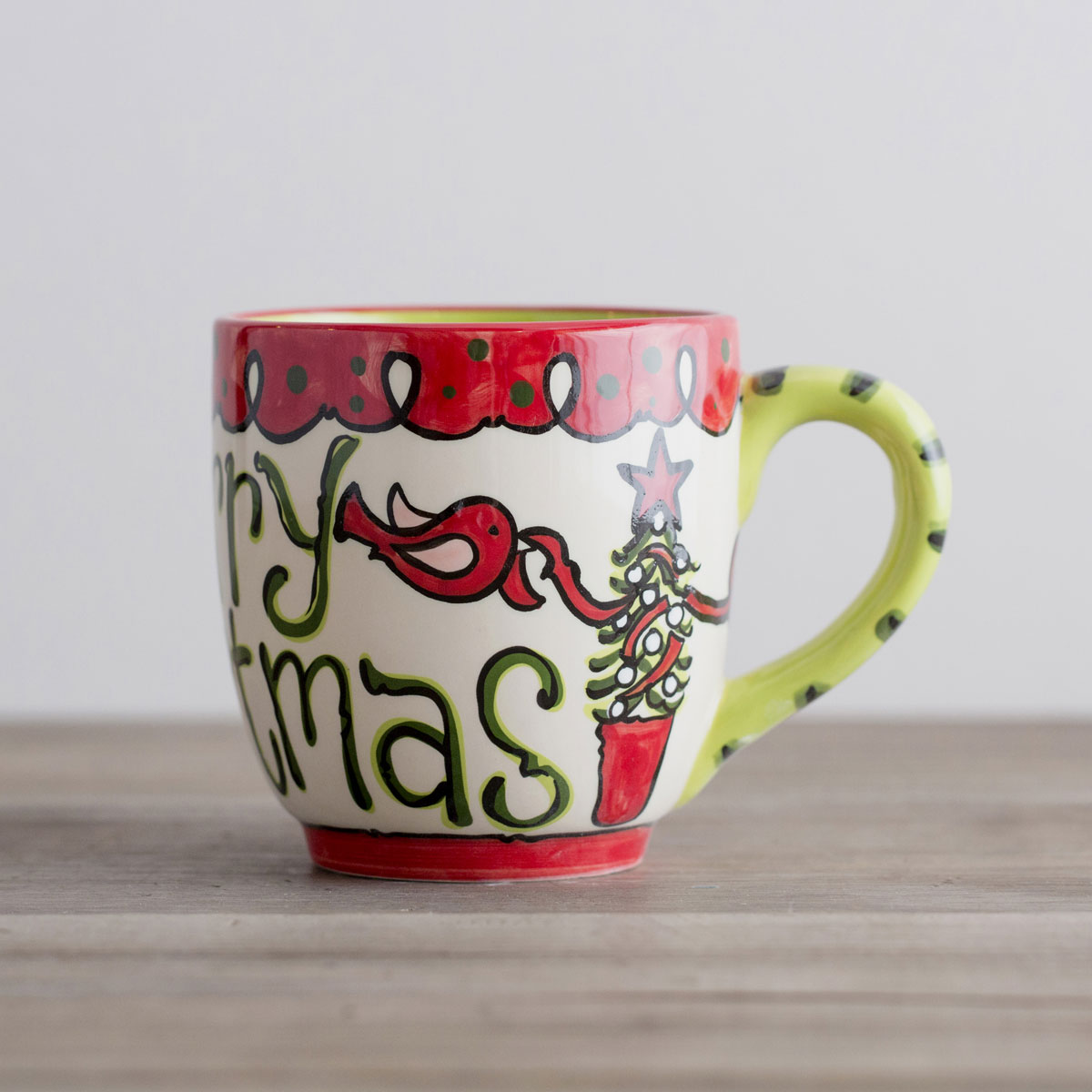 Merry Christmas - Christmas Jumbo Mug