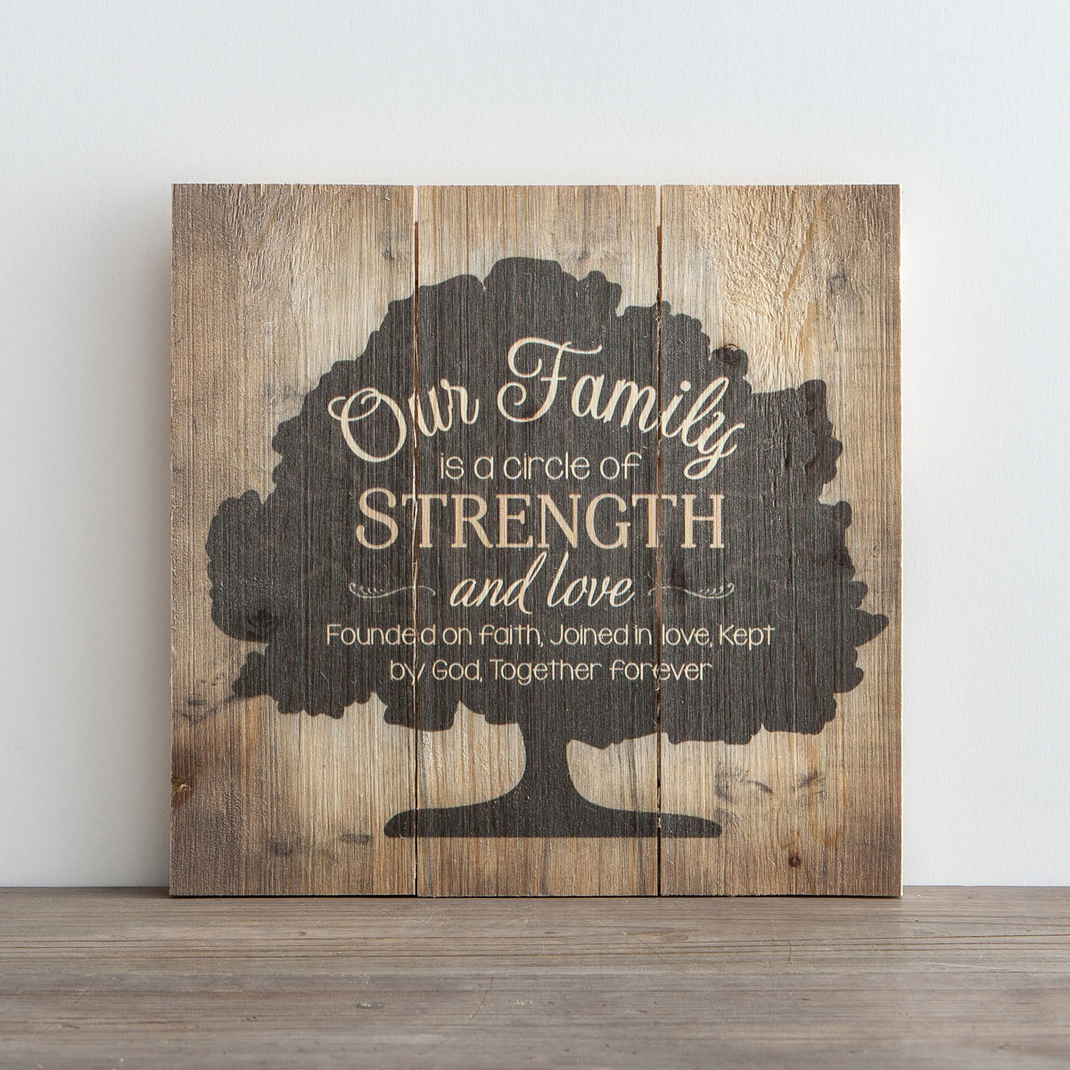 Our Family - Plank Wall Art