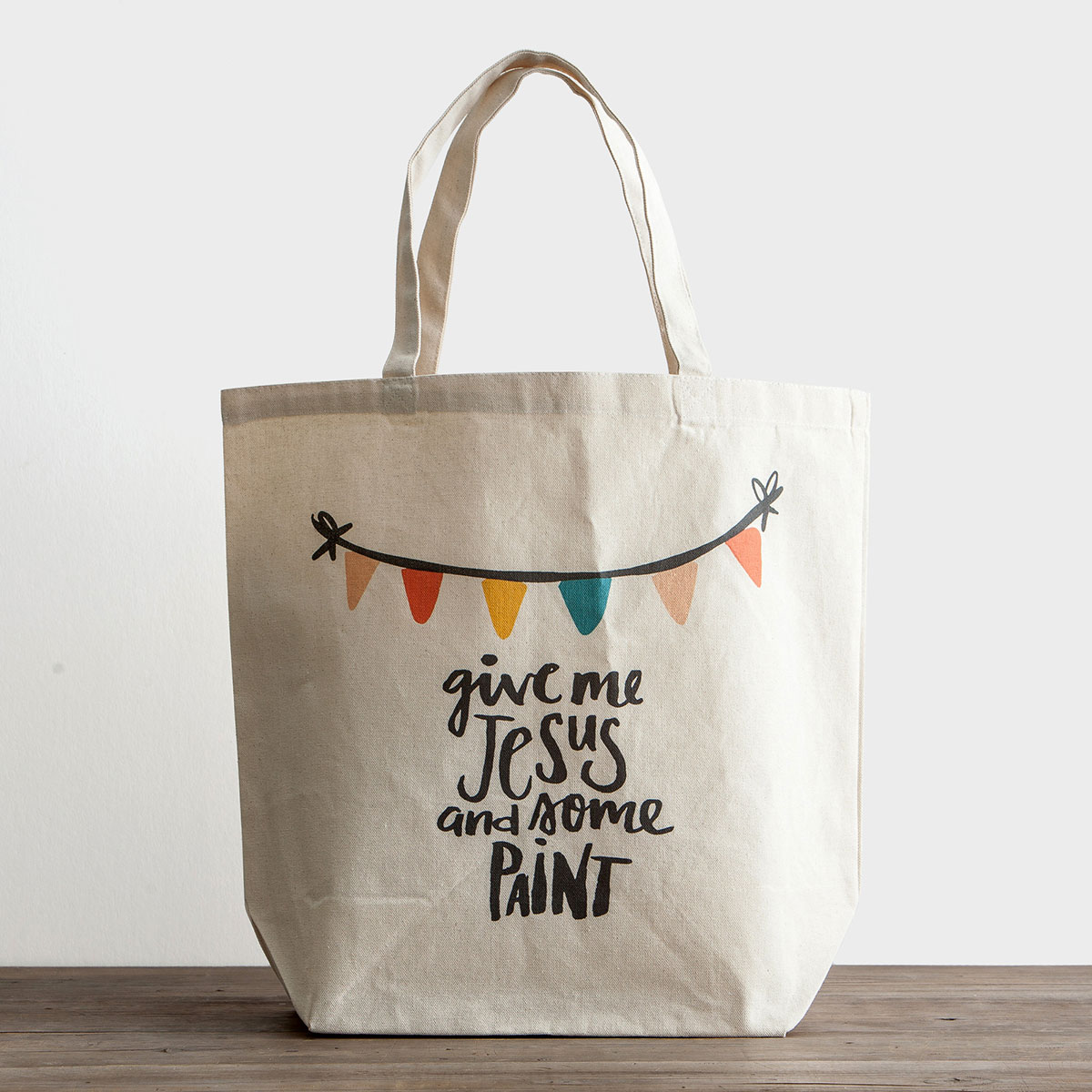 Illustrated Faith - Give Me Jesus - Canvas Tote Bag