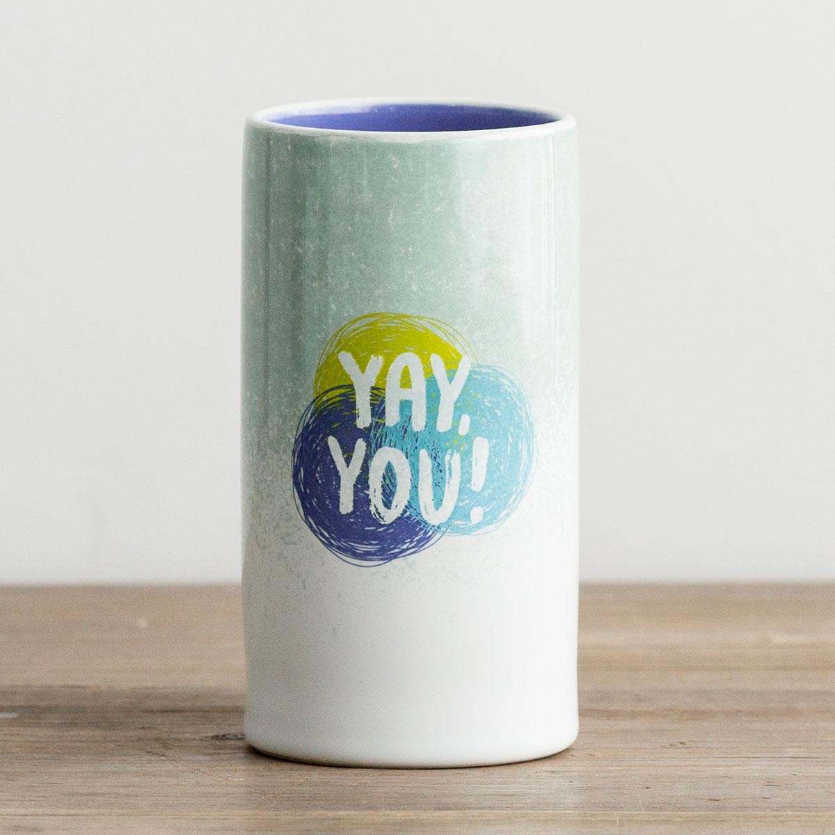 Yay, You! - Ceramic Pencil Holder