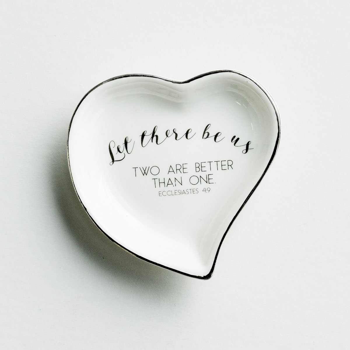 Let There Be Us - Ring Dish