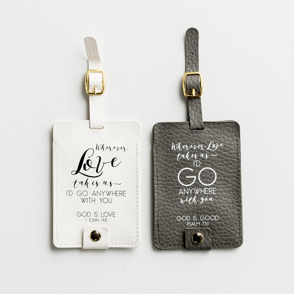 I'd Go Anywhere with You - Luggage Tag Set