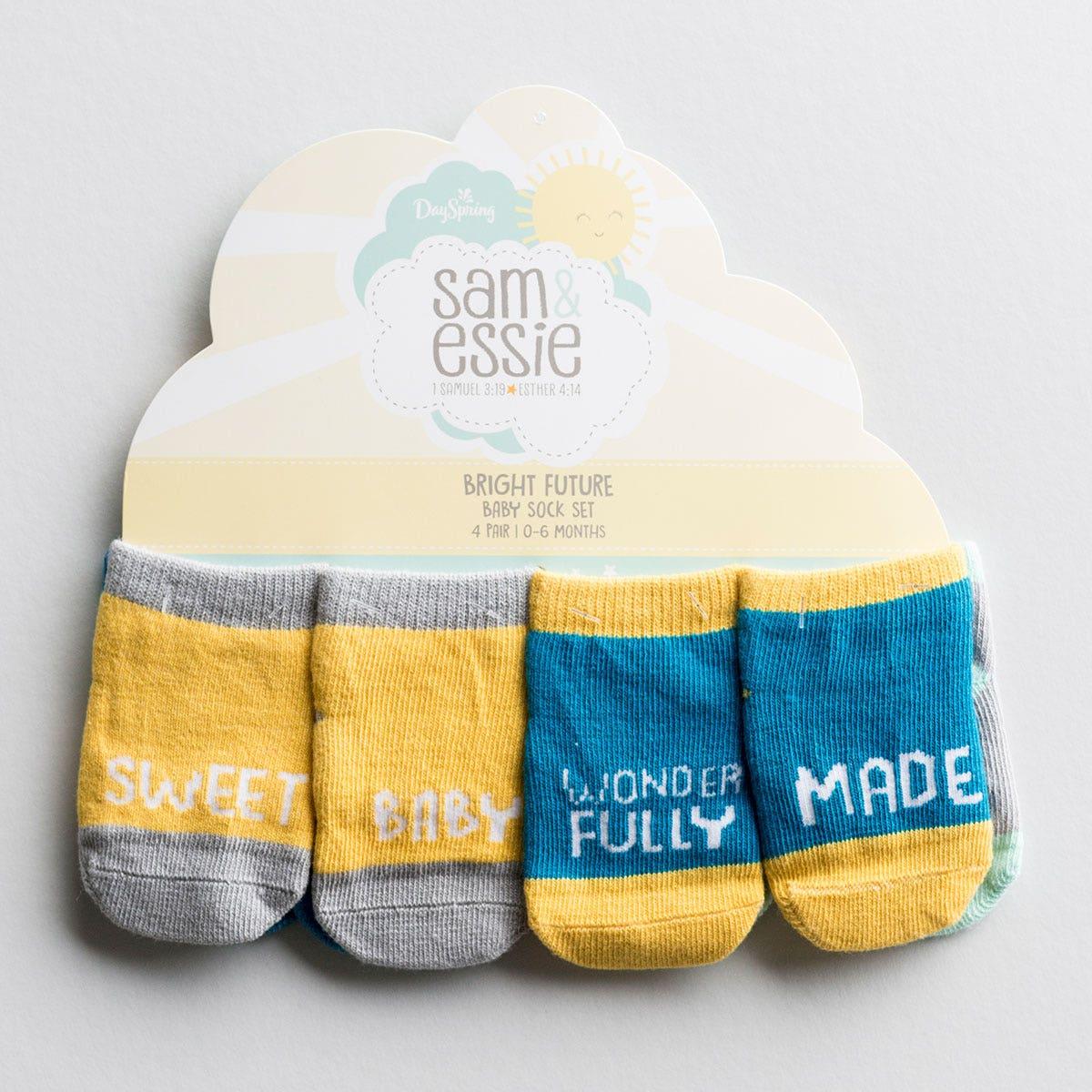 Sam & Essie - Bright Future - Baby Sock Set, 4 Pair
