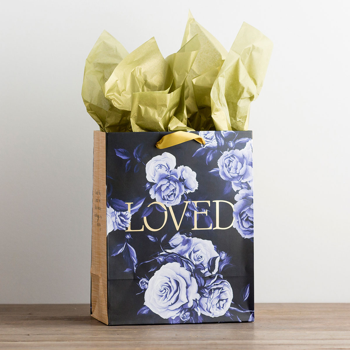 Loved - Medium Gift Bag with Tissue