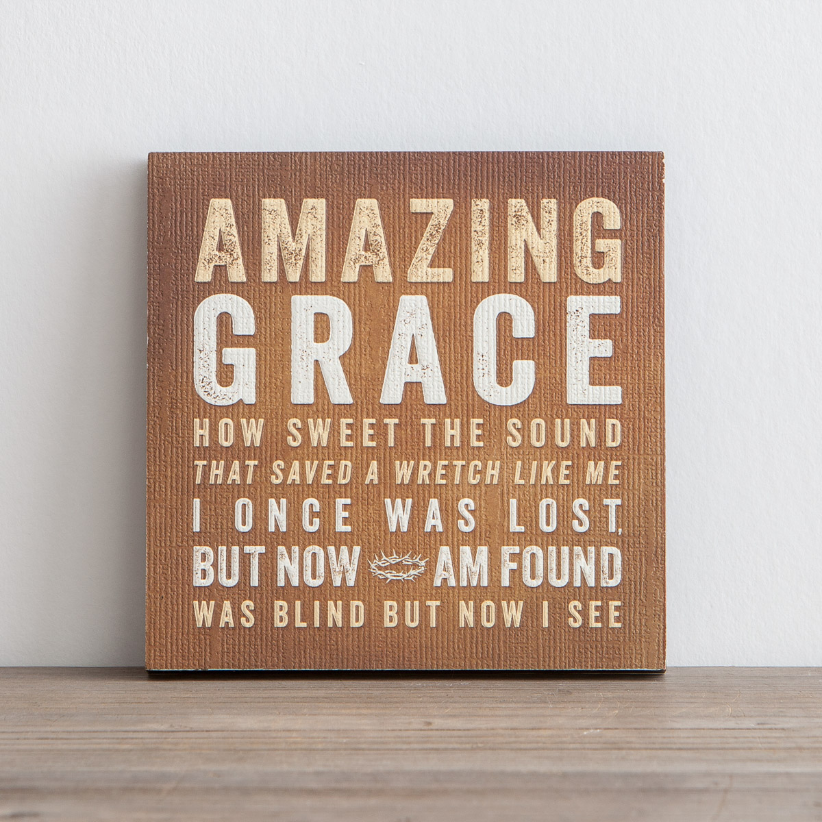 Lyrics for Life - Amazing Grace - Wall Art