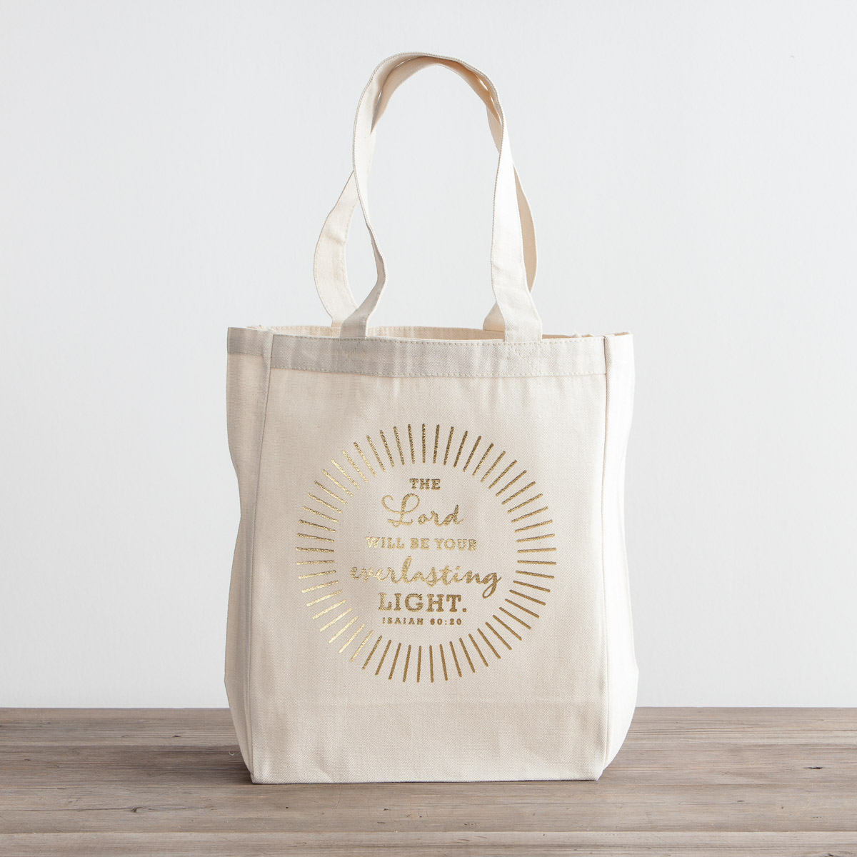 Everlasting Light - Canvas Tote Bag