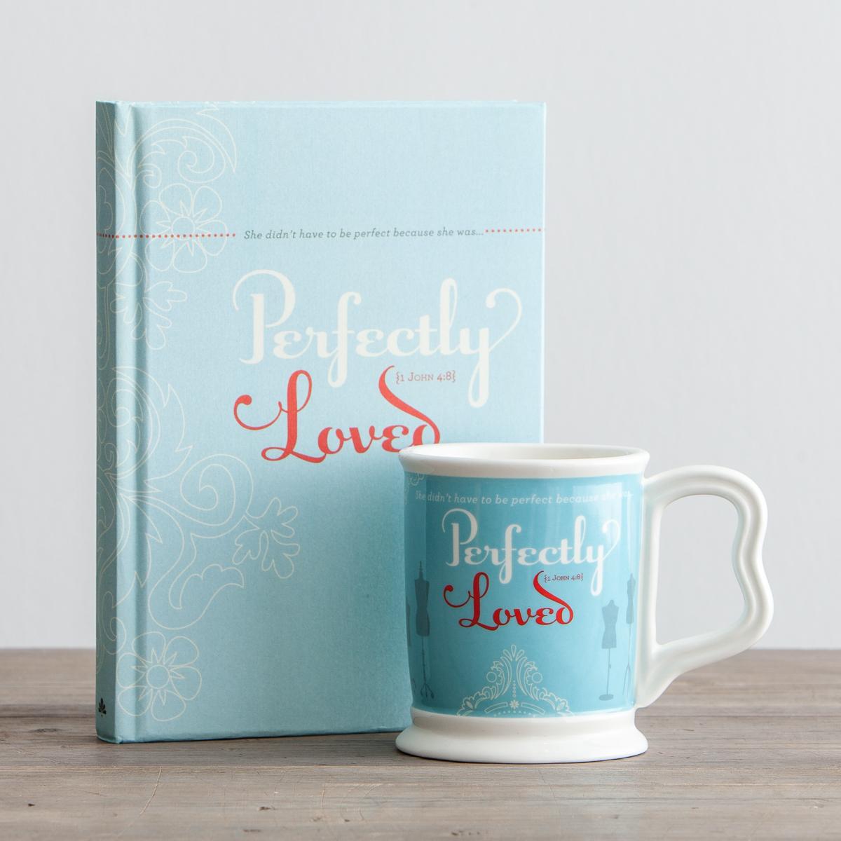 Christian Journal and Mug gift Set women