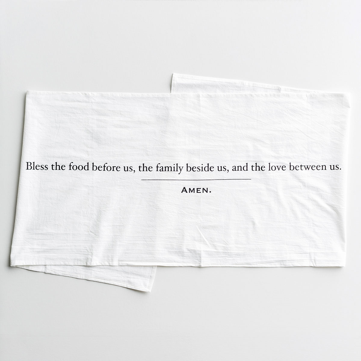 Simple Blessings - Crinkle Cotton Table Runner