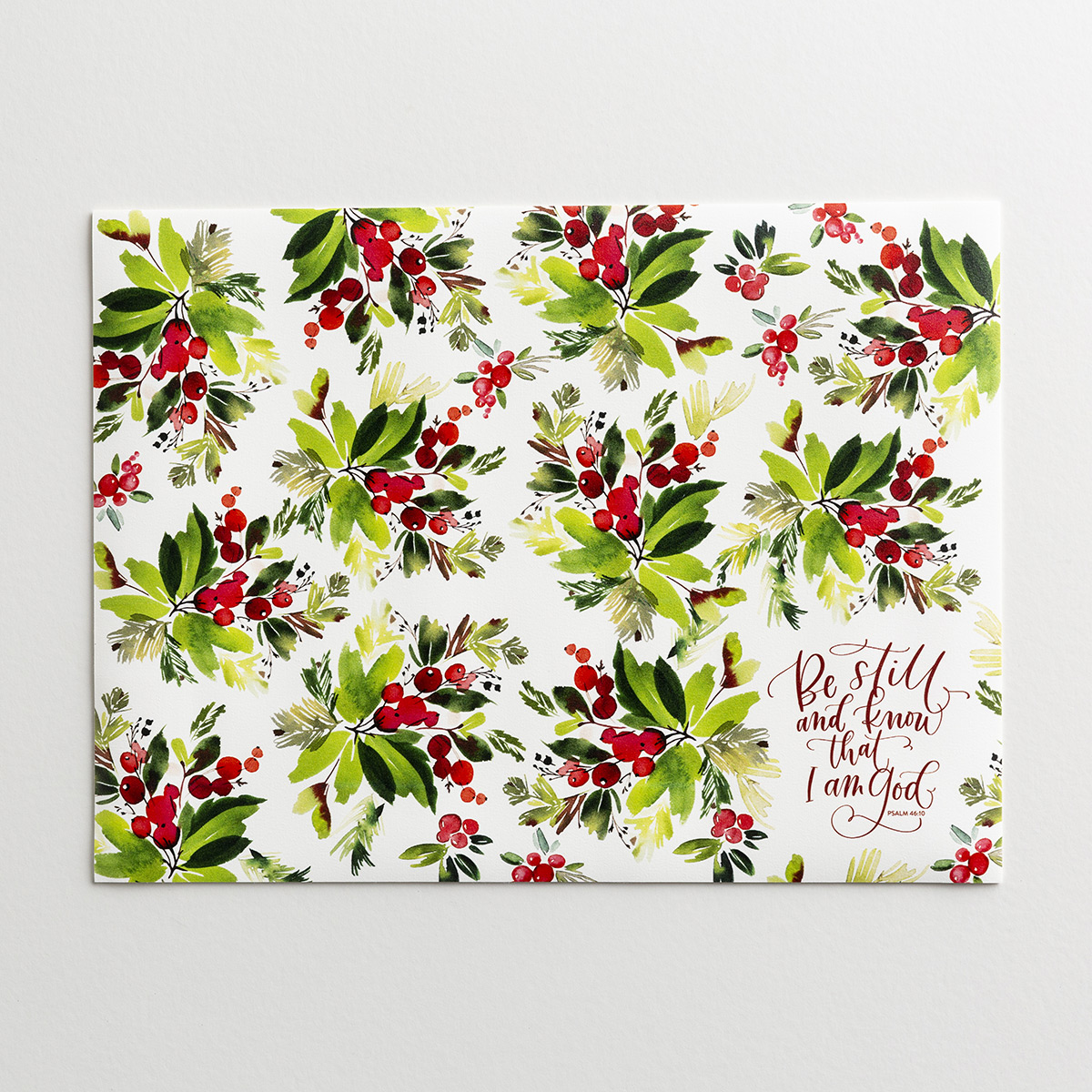 Be Still - Christmas Placemats - Set of 4