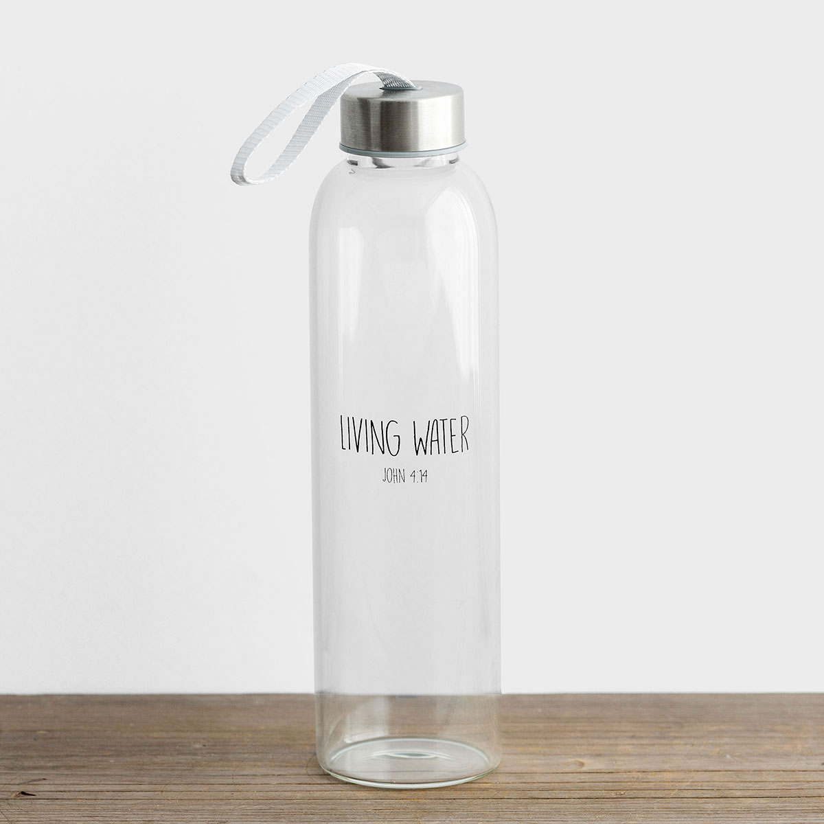 Living Water - Glass Water Bottle
