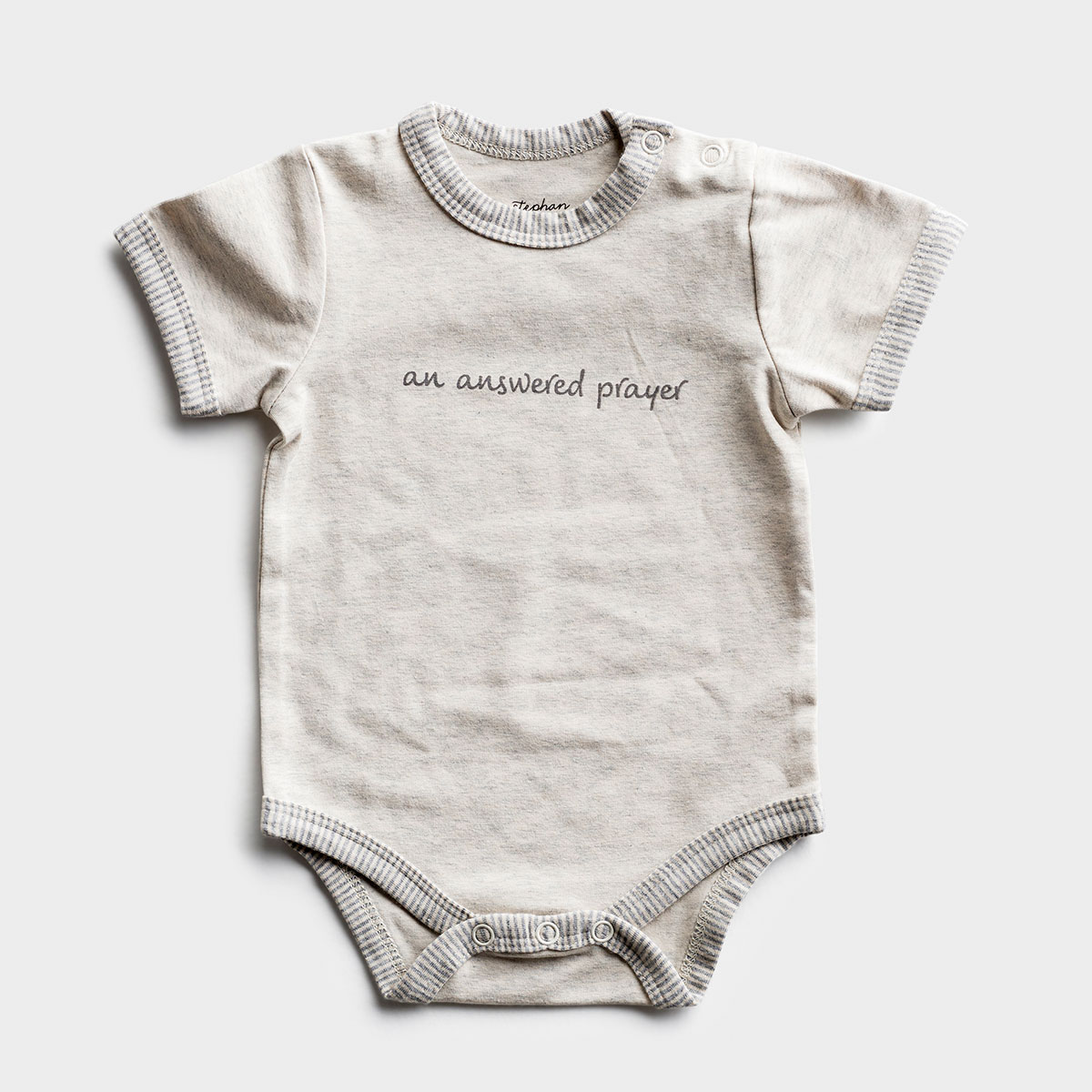An Answered Prayer - Baby Bodysuit