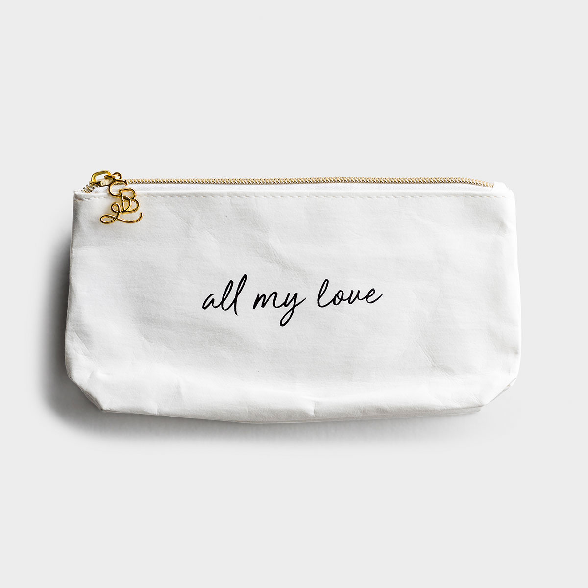 All My Love - Pouch/Stadium Bag Insert - White