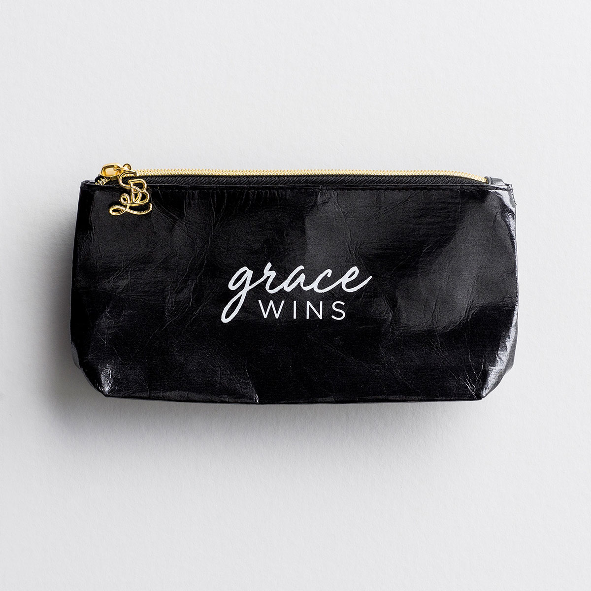 Grace Wins - Pouch/Stadium Bag Insert - Black