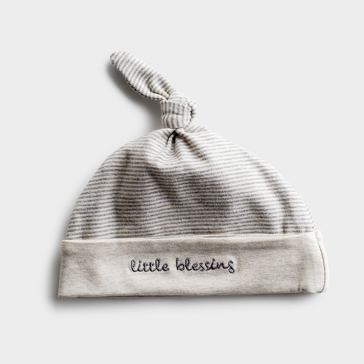 Little Blessing - Gray Baby Cap