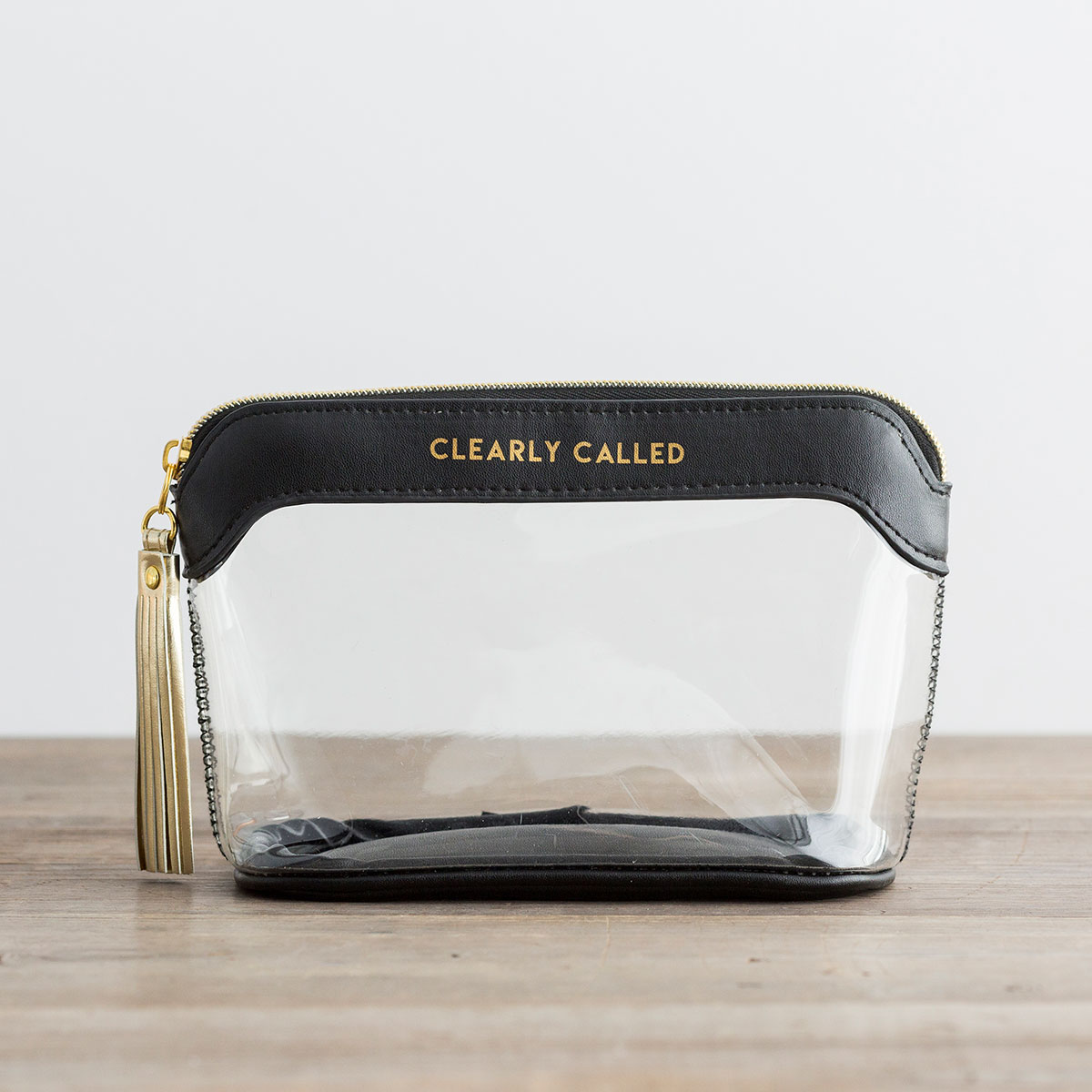 Clearly Called - Clear Travel Pouch