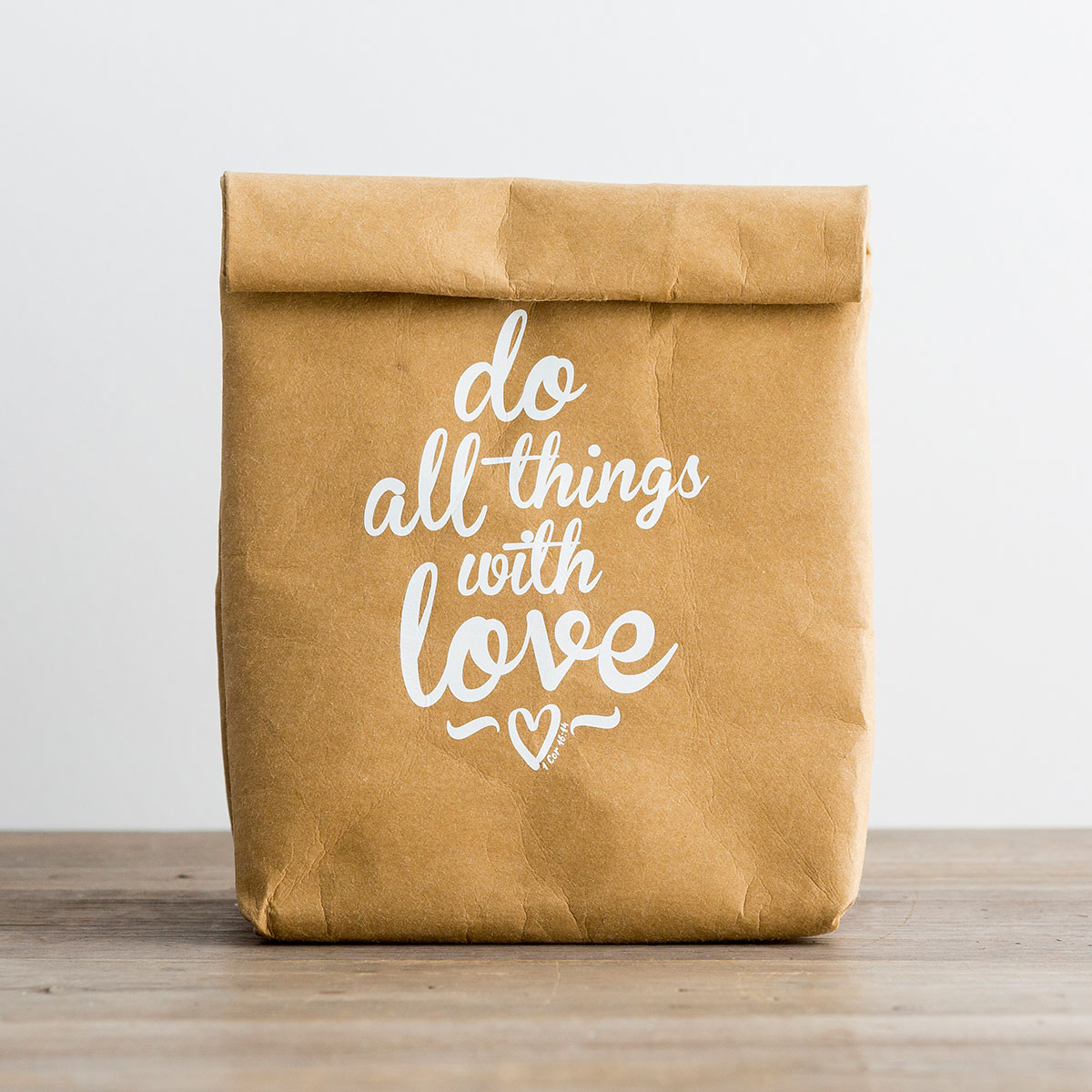 Do All Things with Love - Insulated Lunch Bag