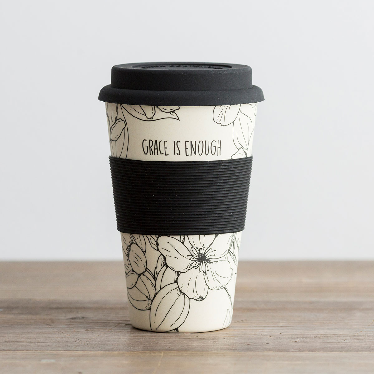Grace Is Enough - Bamboo Travel Cup