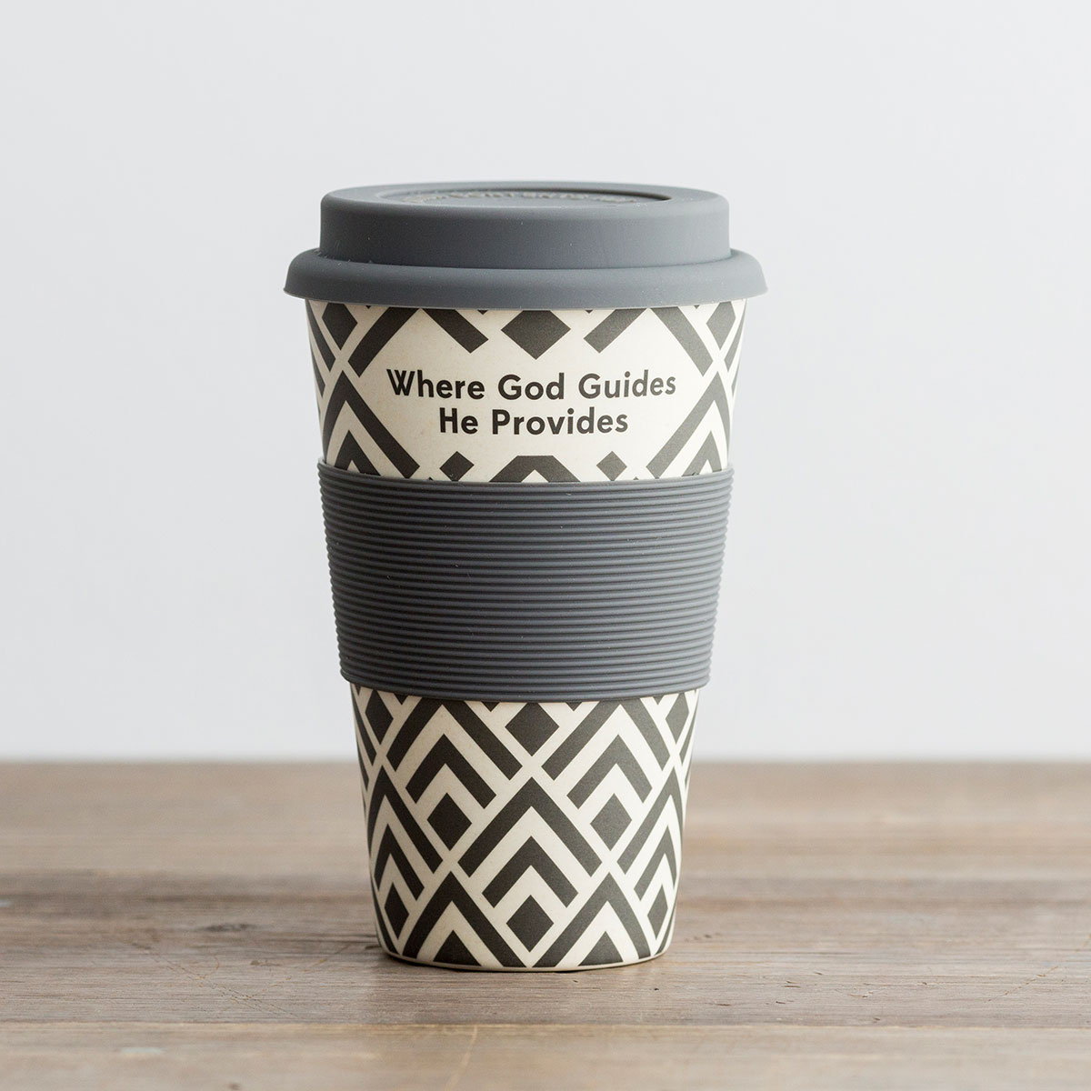 Where God Guides He Provides - Bamboo Travel Cup
