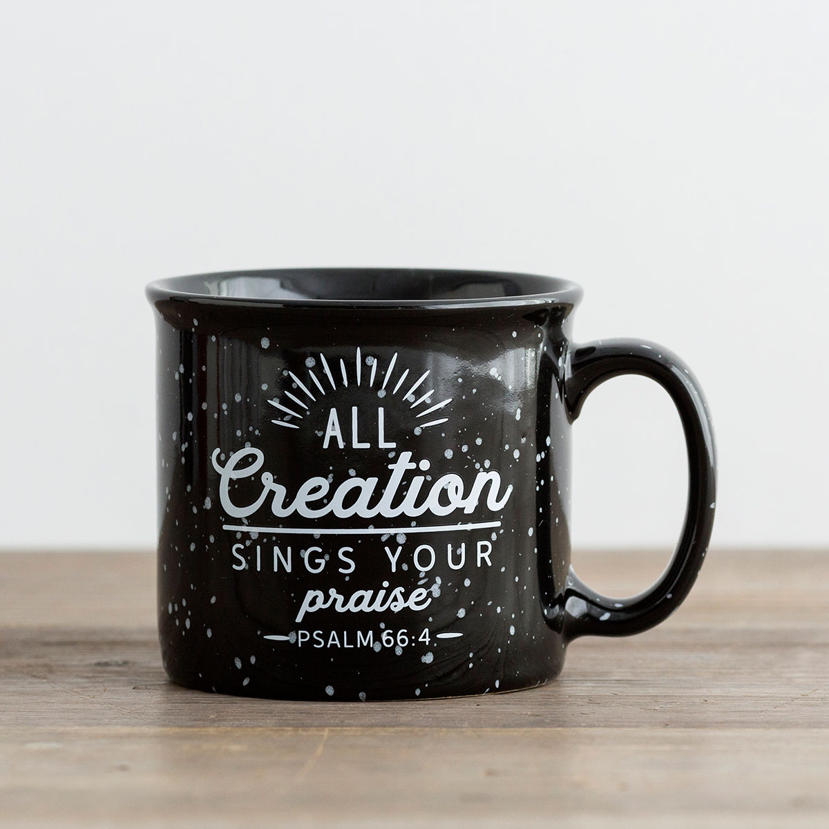 All Creation Sings Your Praise - Ceramic Campfire Mug