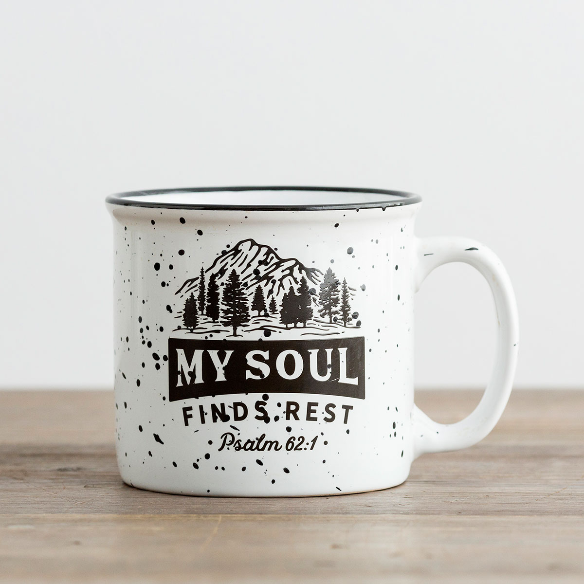 My Soul Finds Rest - Ceramic Campfire Mug