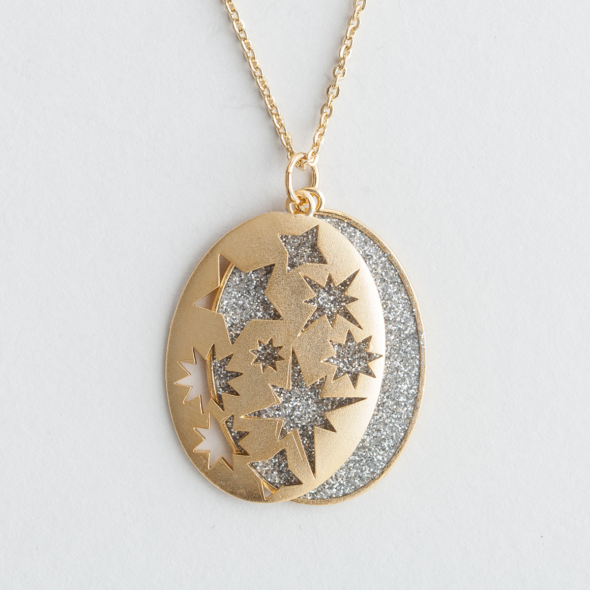 Everlasting Light - Layered Shimmer Necklace