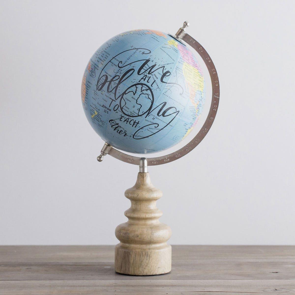 We All Belong - Inspirational Globe