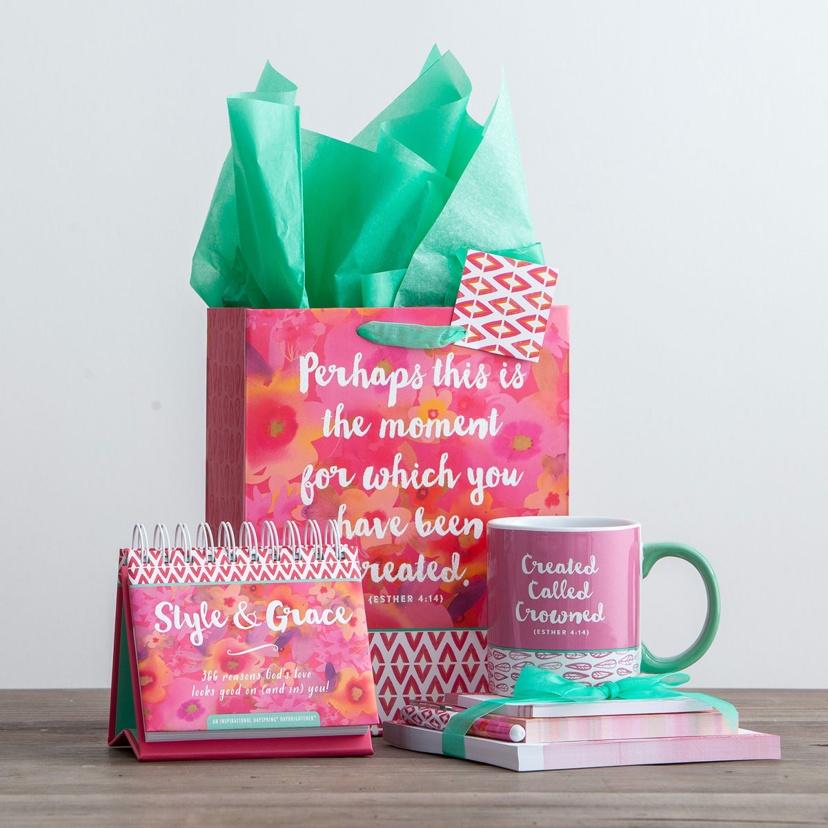 Created, Called, Crowned - 4-Piece Inspirational Gift Set