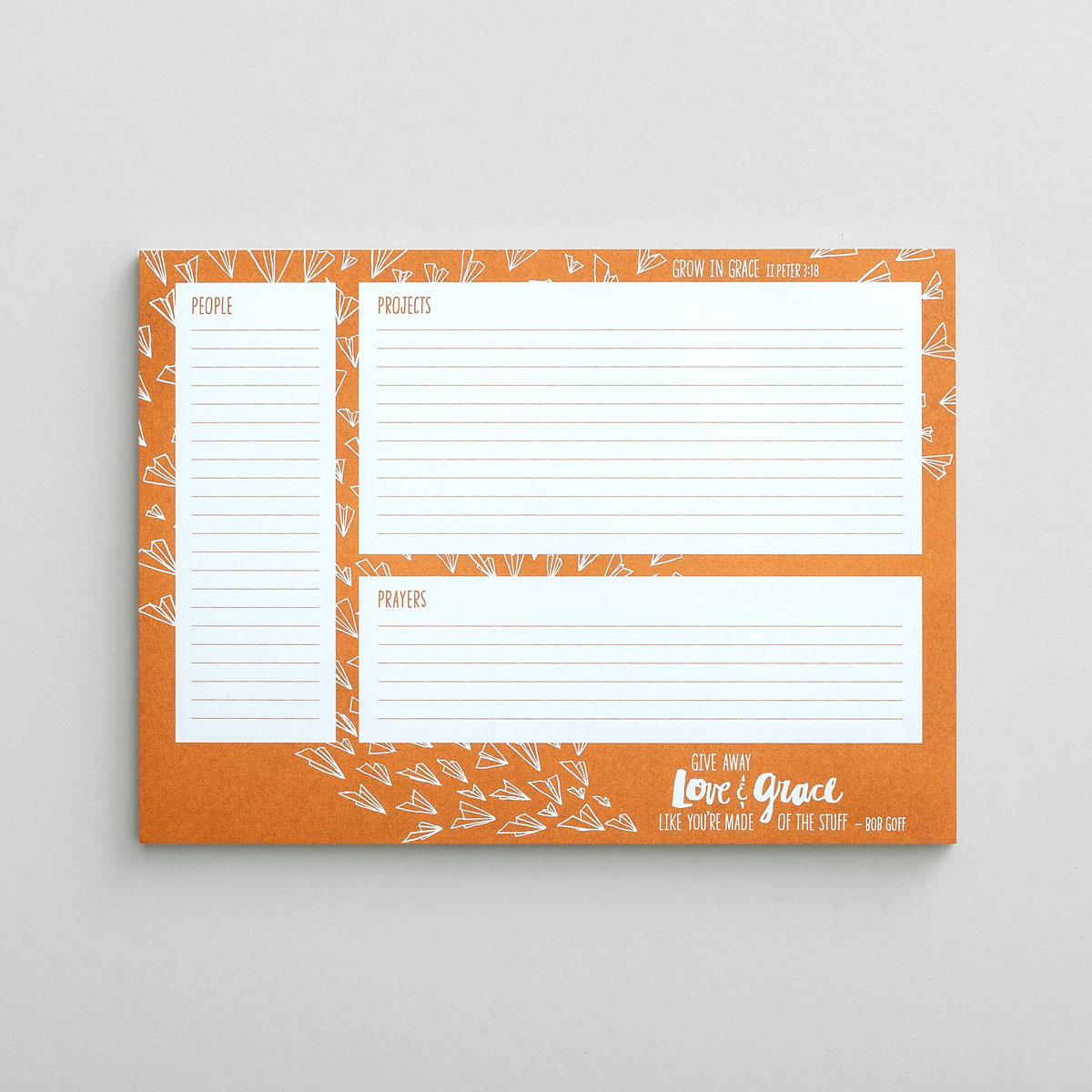 Love Does - Desk Pad