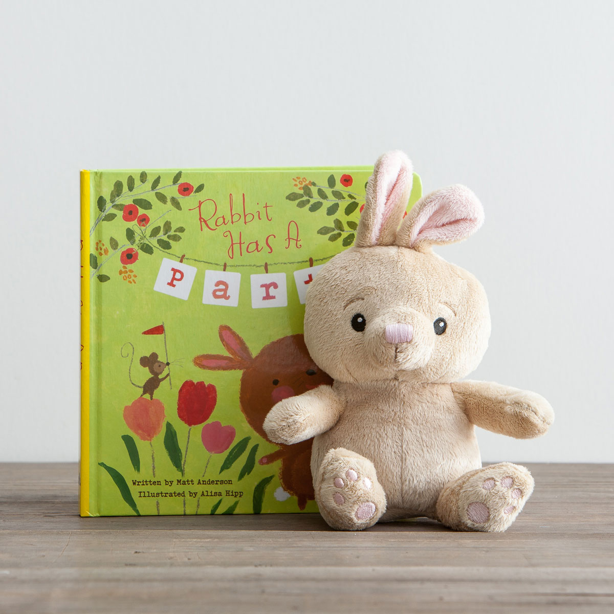 Easter - Rabbit Has a Party - Inspirational Children's Gift Set
