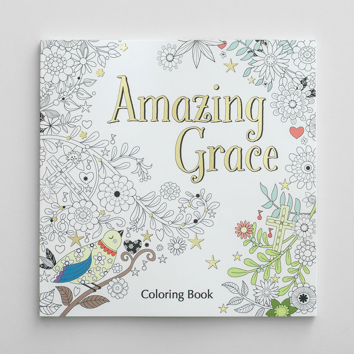 Amazing Grace - Inspirational Coloring Book