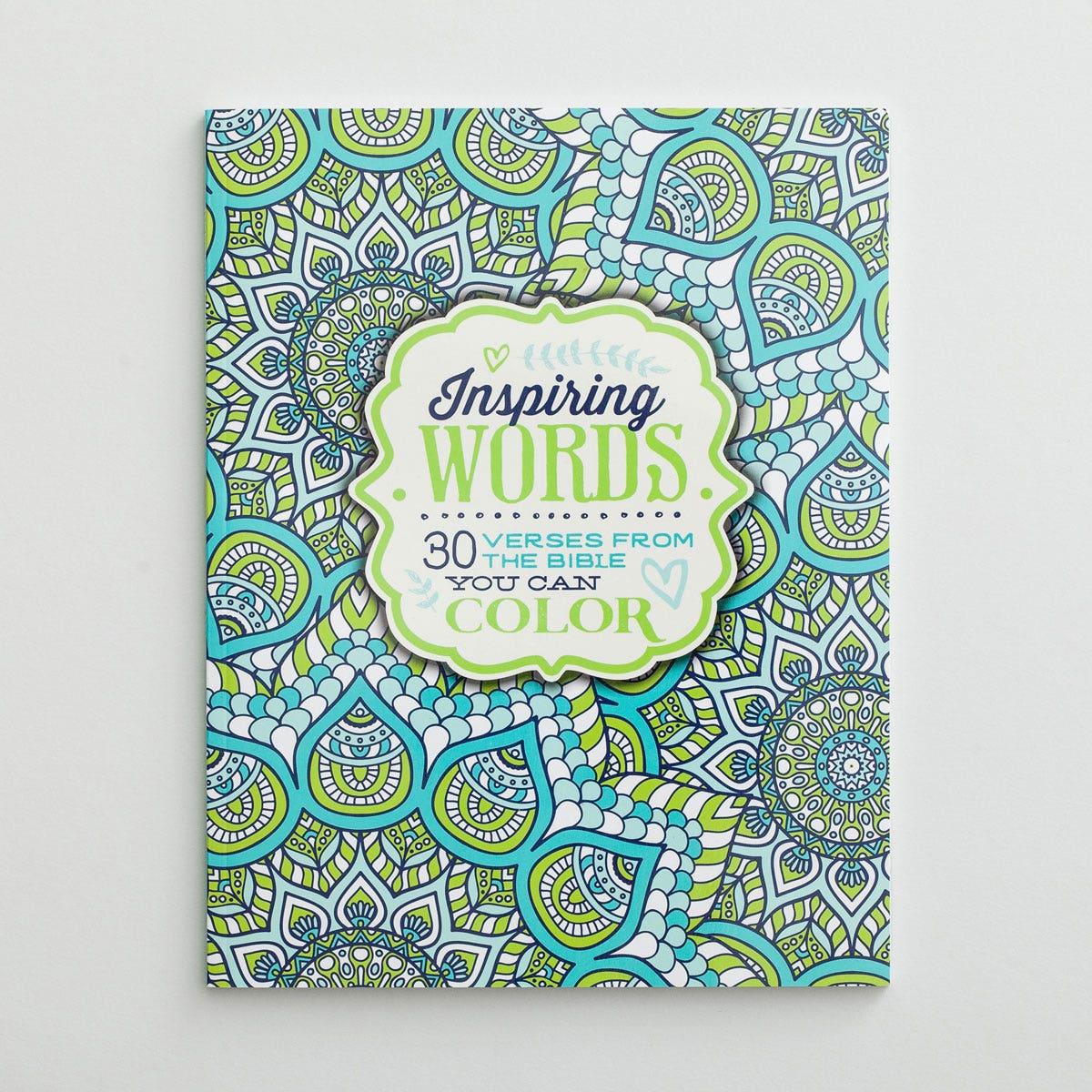 Inspiring Words - Inspirational Coloring Book