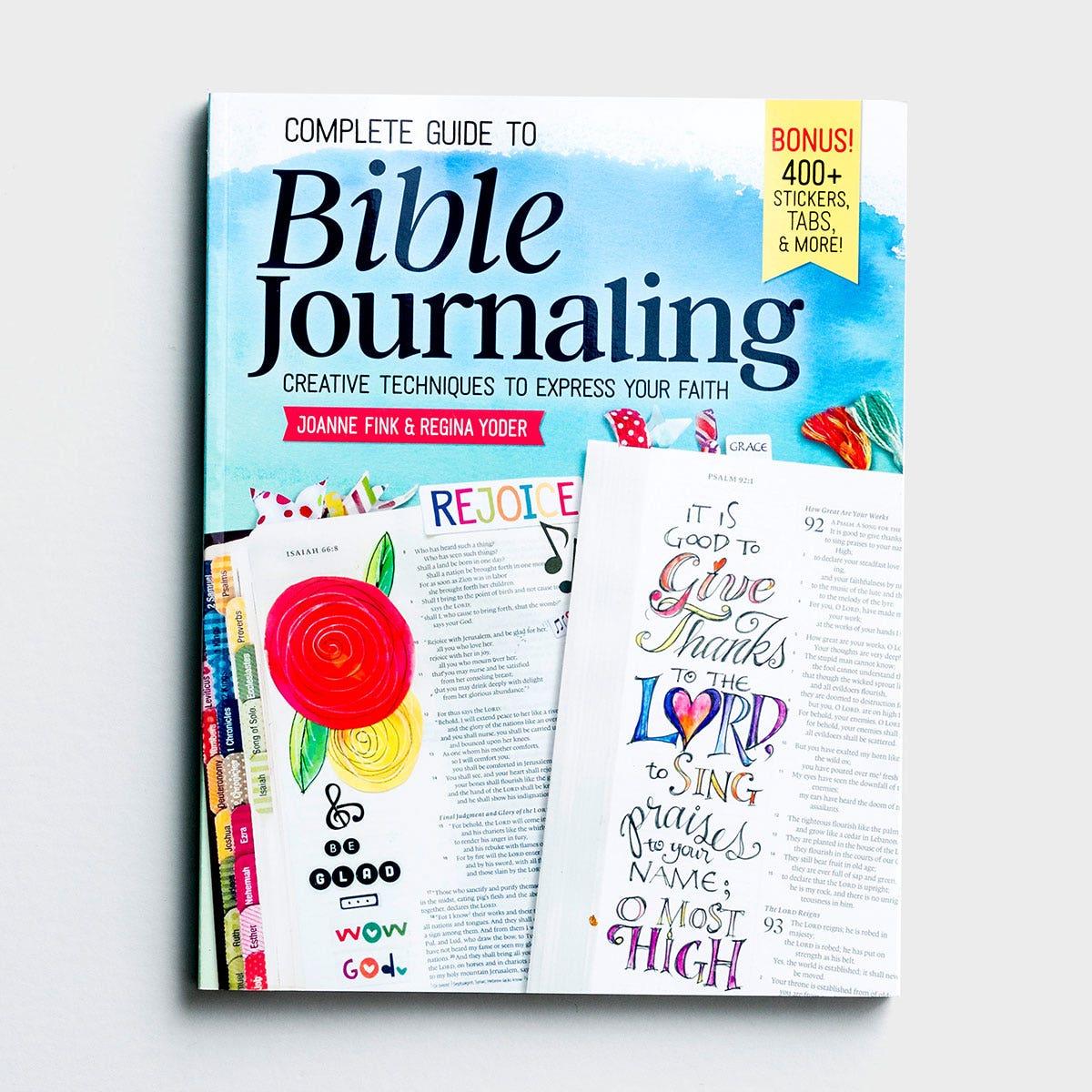 Joanne Fink, Regina Yoder - Complete Guide to Bible Journaling
